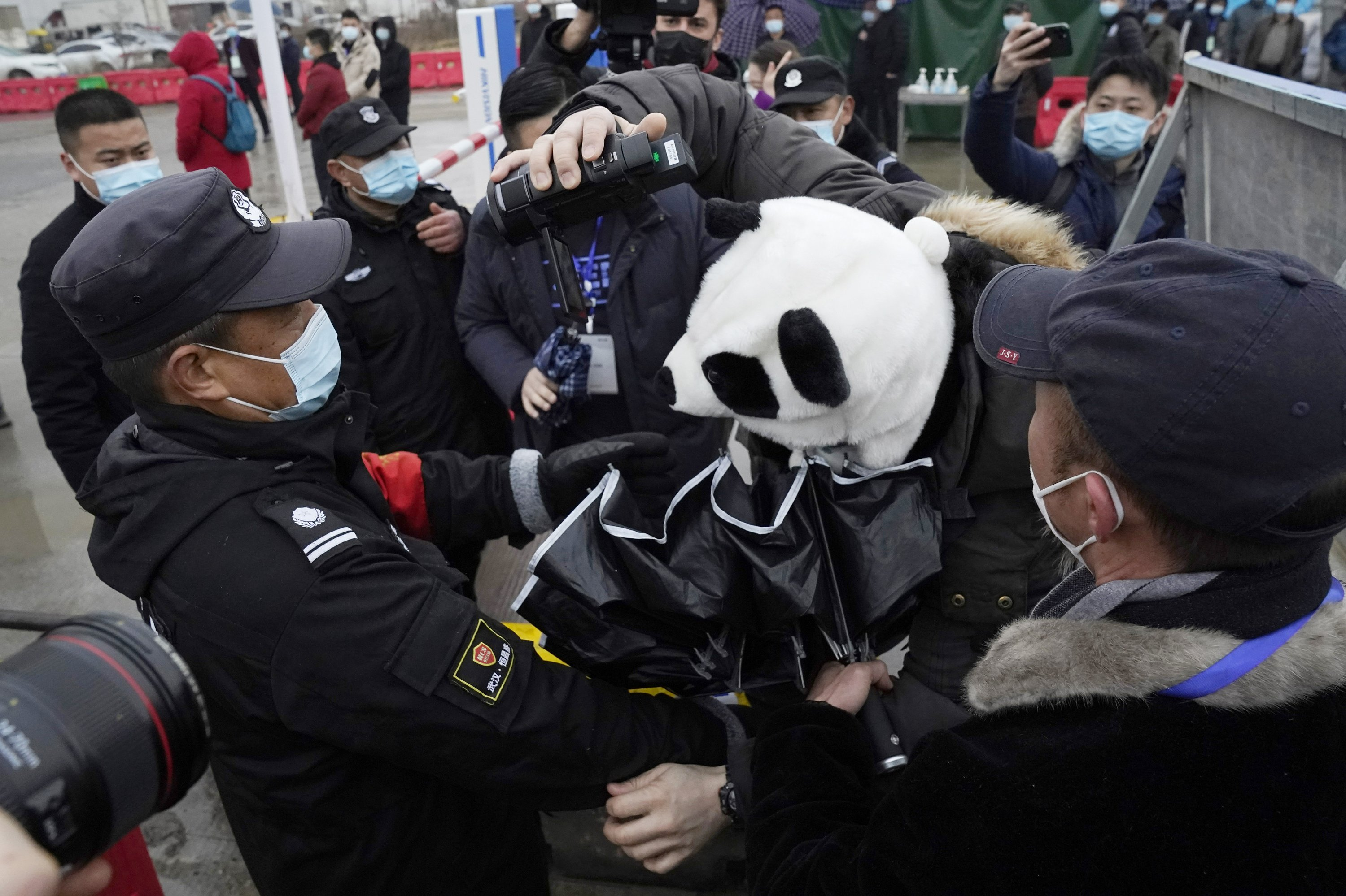 WHO teams visits Wuhan food market in search of virus clues