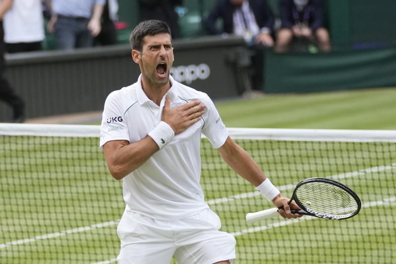 Back in Wimbledon final, Djokovic to face Italy's Berrettini