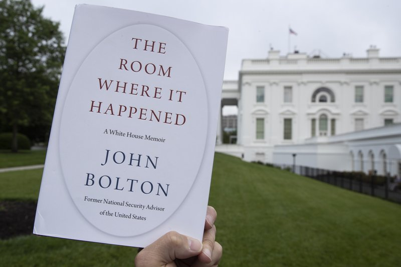 "PDF version of John Bolton's memoir ""The Room Where It Happened"" has turned  up on the internet 