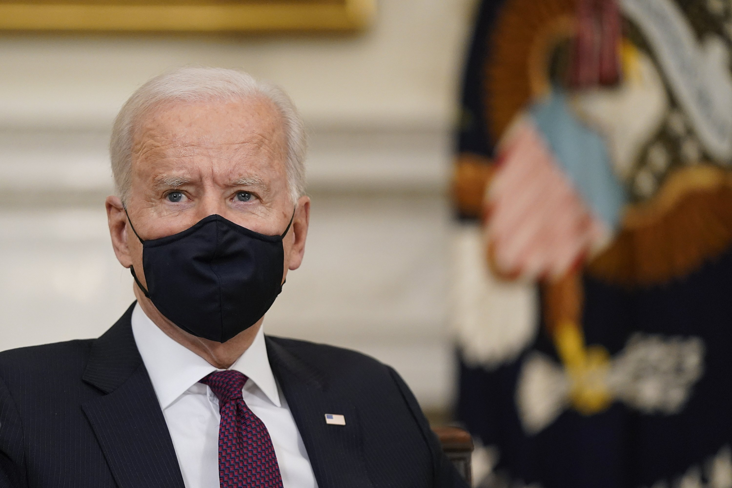 Biden White House: keeping control of the daily message – Associated Press