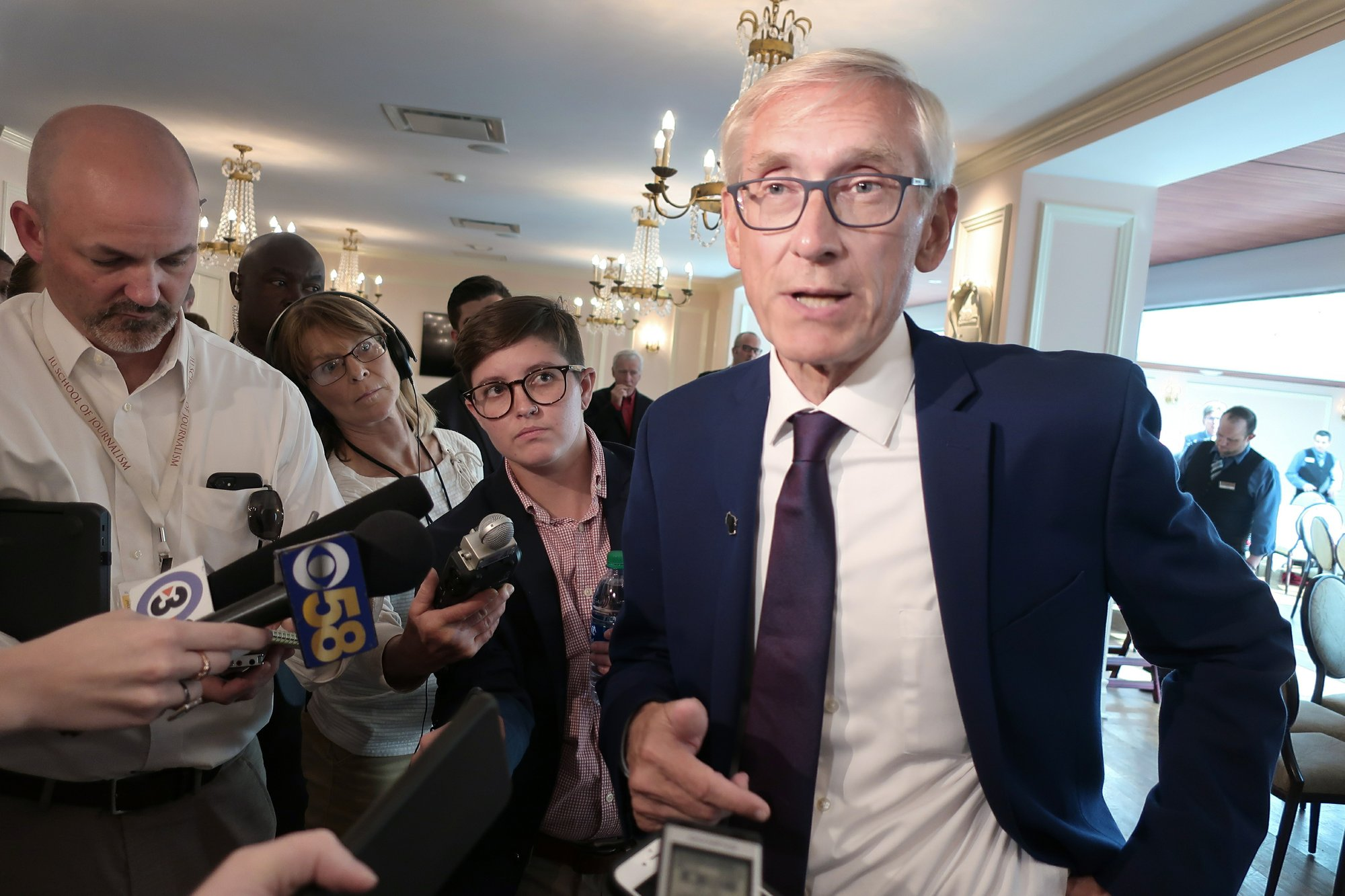 APNewsBreak: Evers issuing 1st Wisconsin pardons in 9 years
