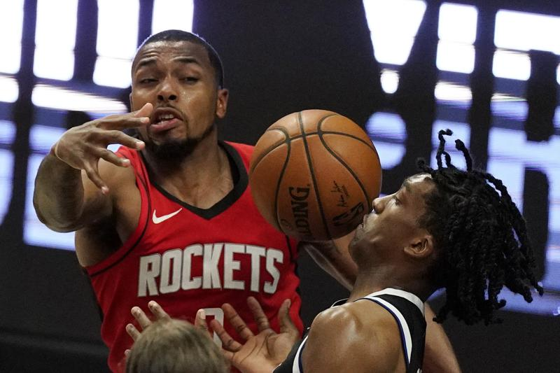 Houston Rockets' guard Sterling Brown assaulted by unknown individuals after the team arrived in Miami