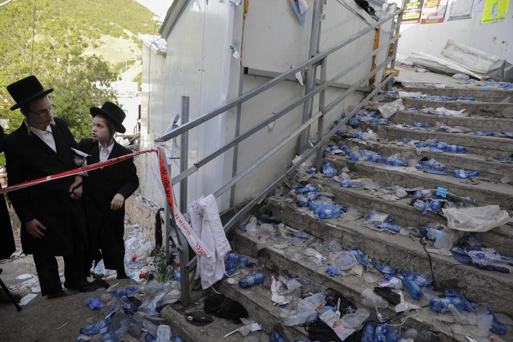 45 lose their lives in stampede at religious festival; Israel mourns their death