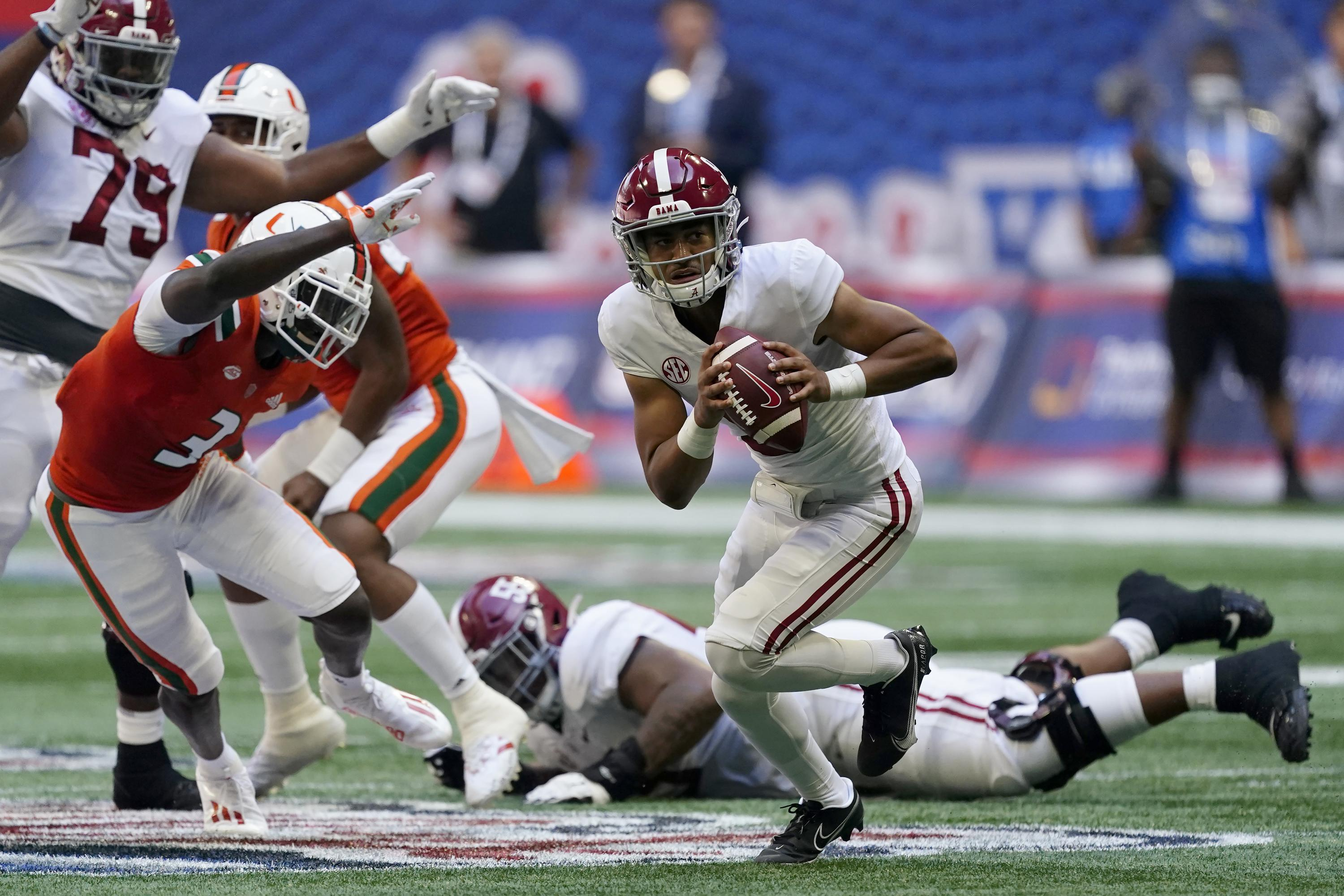 COLLEGE FOOTBALL TODAY: Alabama's Young throws for four TDs - Associated Press