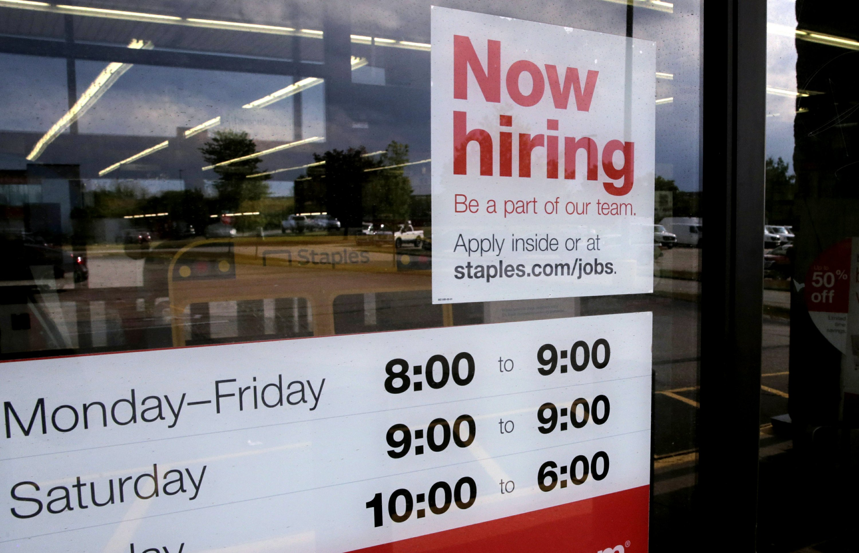 US job openings slip 1.7% in August as labor market slows