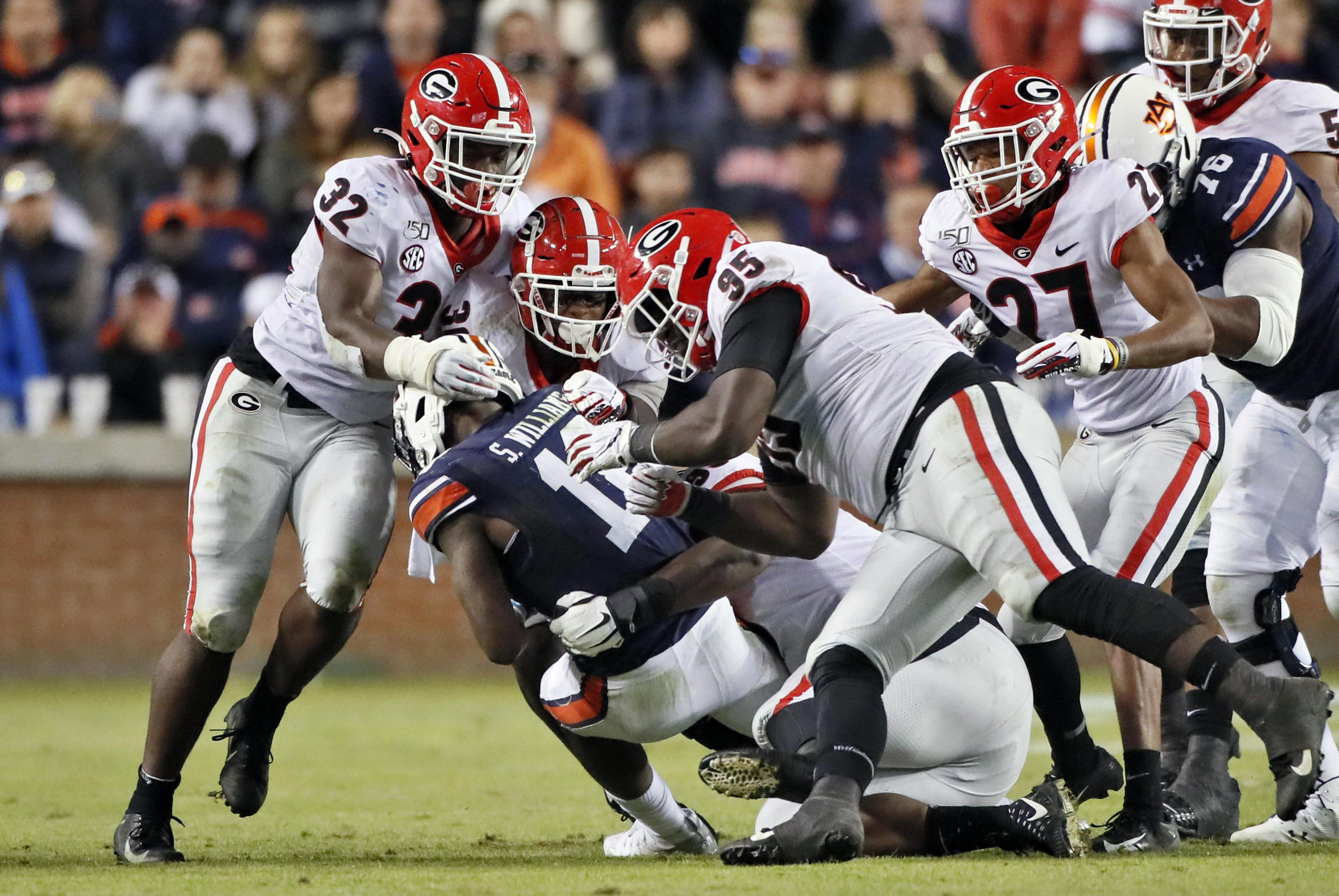 No. 4 Georgia continues playoff chase with another big test