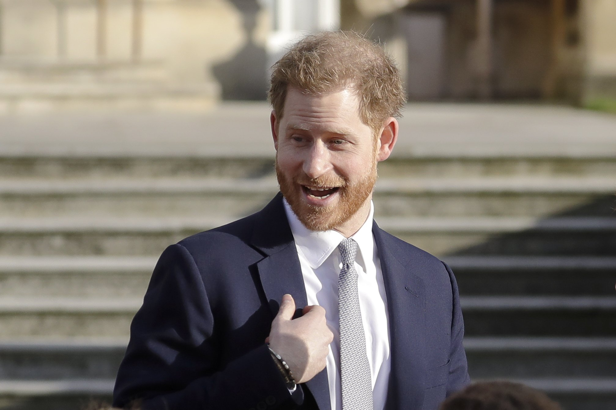 Prince Harry raps 'Fresh Prince,' says he didn't walk away - Associated Press