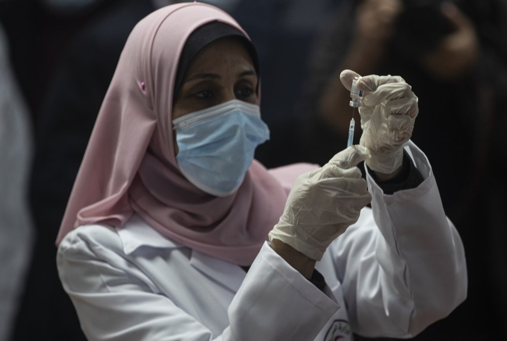 Hamas-ruled Gaza launches coronavirus vaccination drive after arrival of the first vaccines