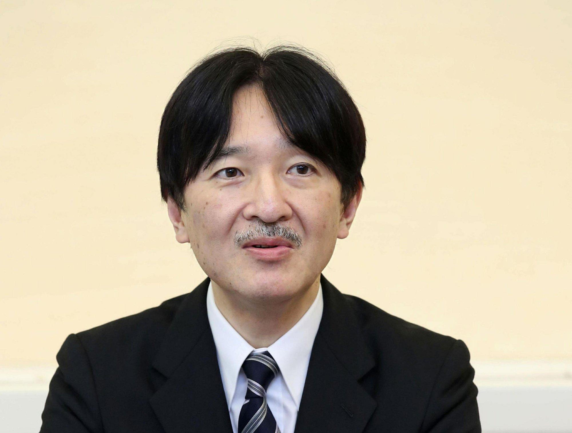 Japan prince: Royal duties need review as members decline
