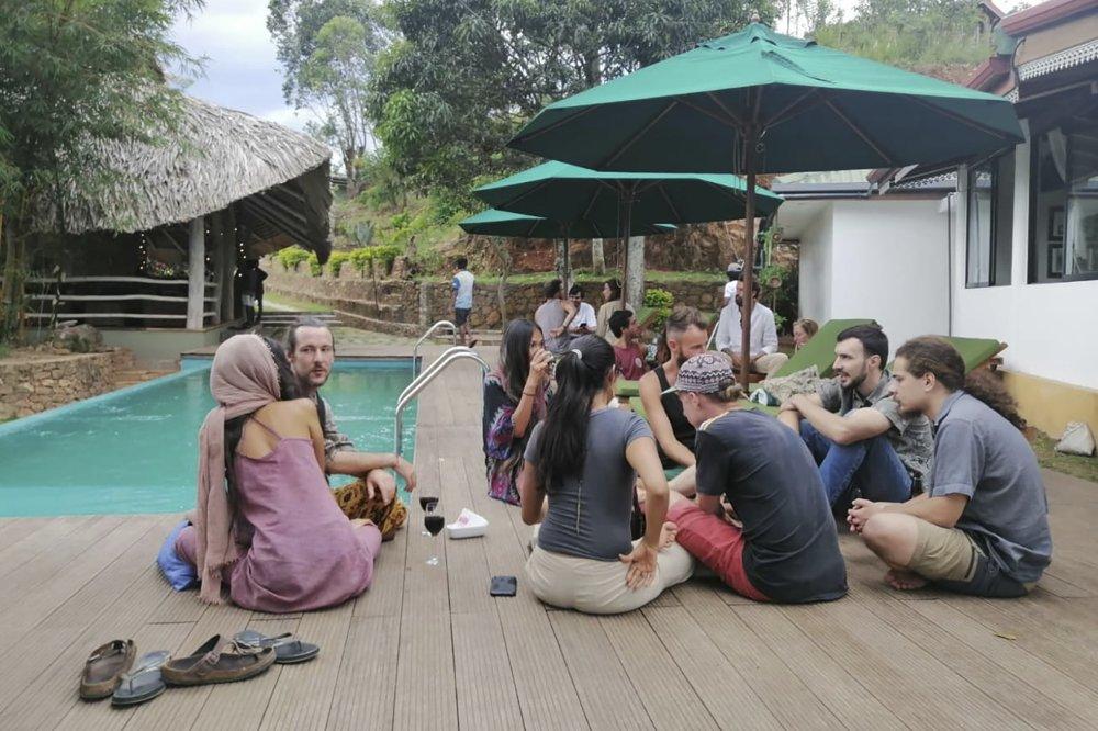 Sri Lankan cafe owner Darshana Ratnayake feeds and shelters tourists stranded due to coronavirus