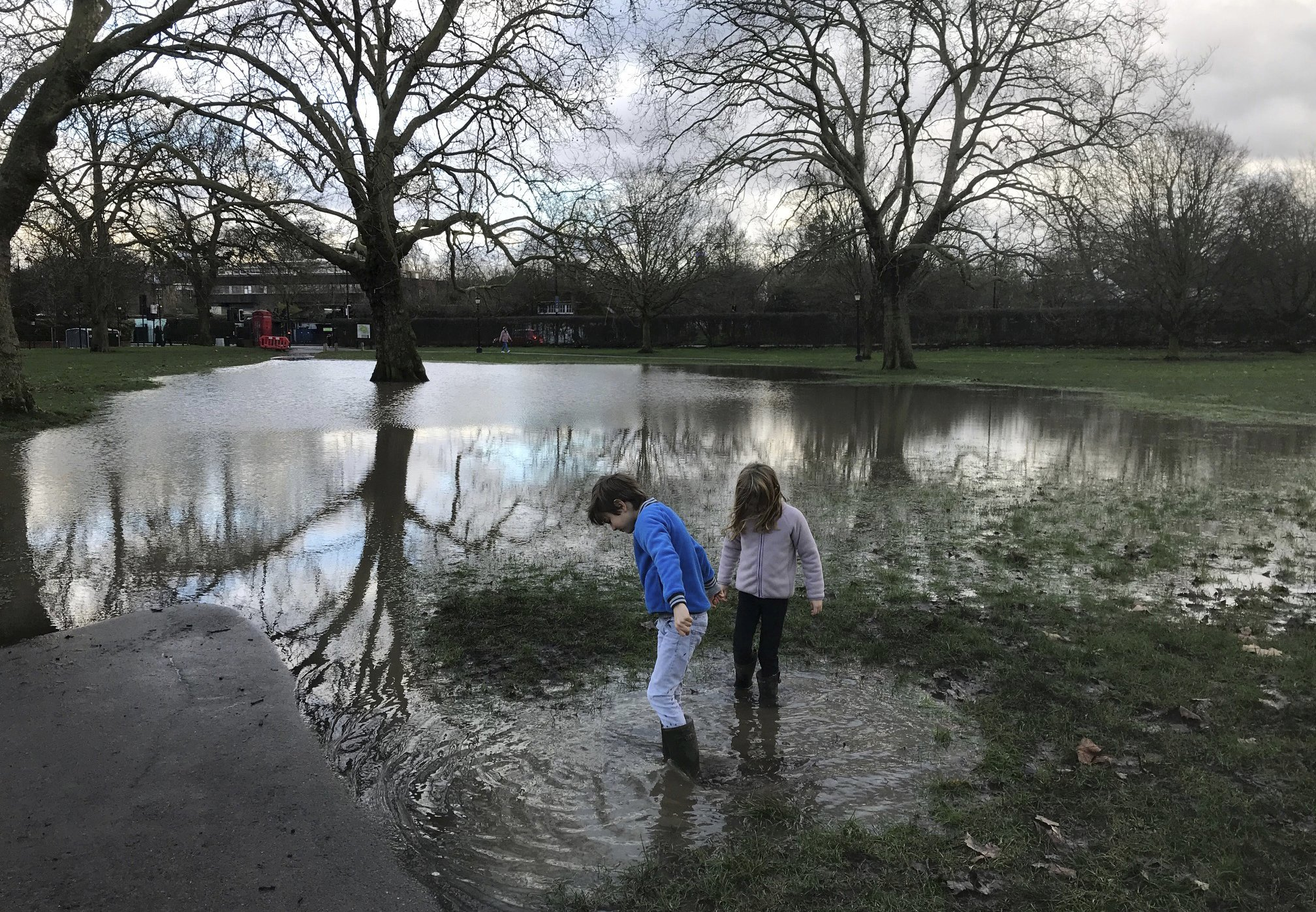 VIRUS DIARY: It's mud, mud everywhere in UK's 3rd lockdown