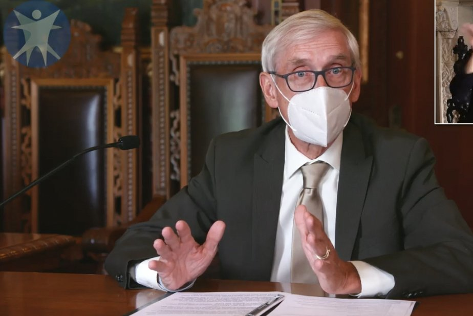 Wisconsin Gov. Tony Evers' statewide mask mandate draws opposition