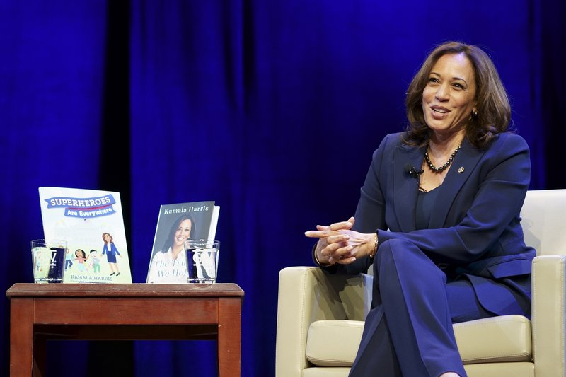 Kamala Harris books surge in popularity after election victory