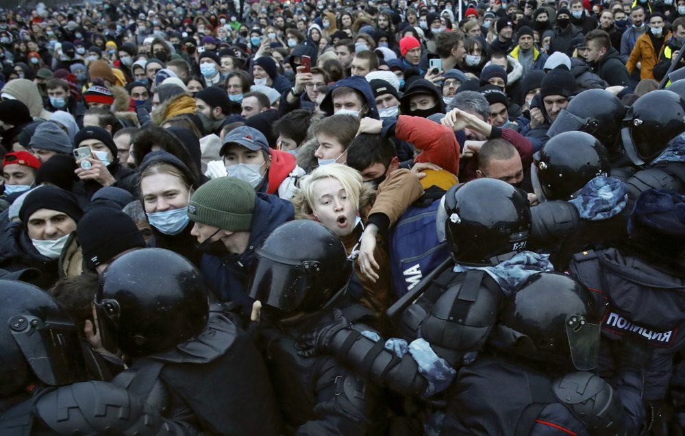 New protests in Russia for Navalny's release