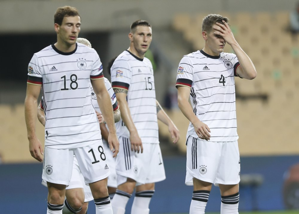Germany's national team's decline seen in result of 6-0 loss in Spain