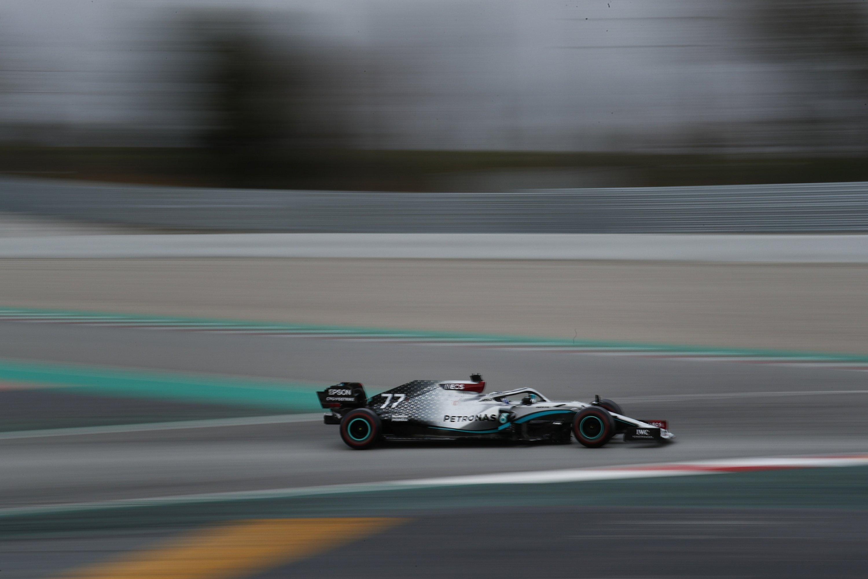 Mercedes' Bottas fastest on final day of F1 preseason