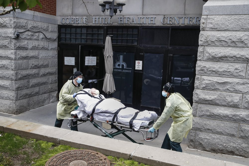 According to the Associated Press, over 4,500 virus patients sent to New York nursing homes