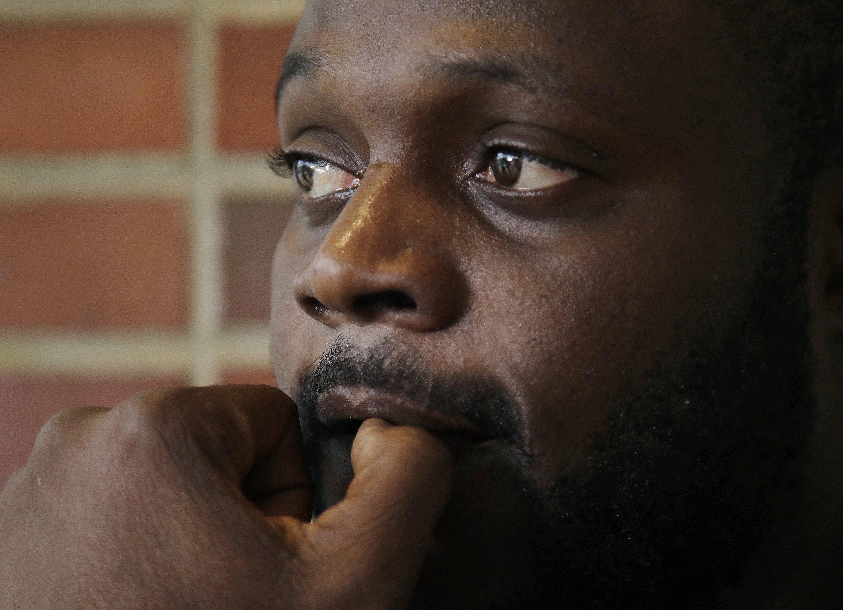 African man escaped a massacre, but death followed
