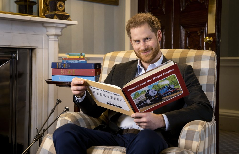 "Prince Harry records message in celebration of the 75th anniversary of children's favorite ""Thomas the Tank Engine"""