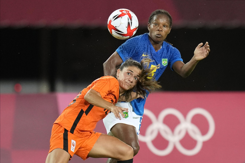 Janssen's goal gives Dutch women a 3-3 draw with Brazil
