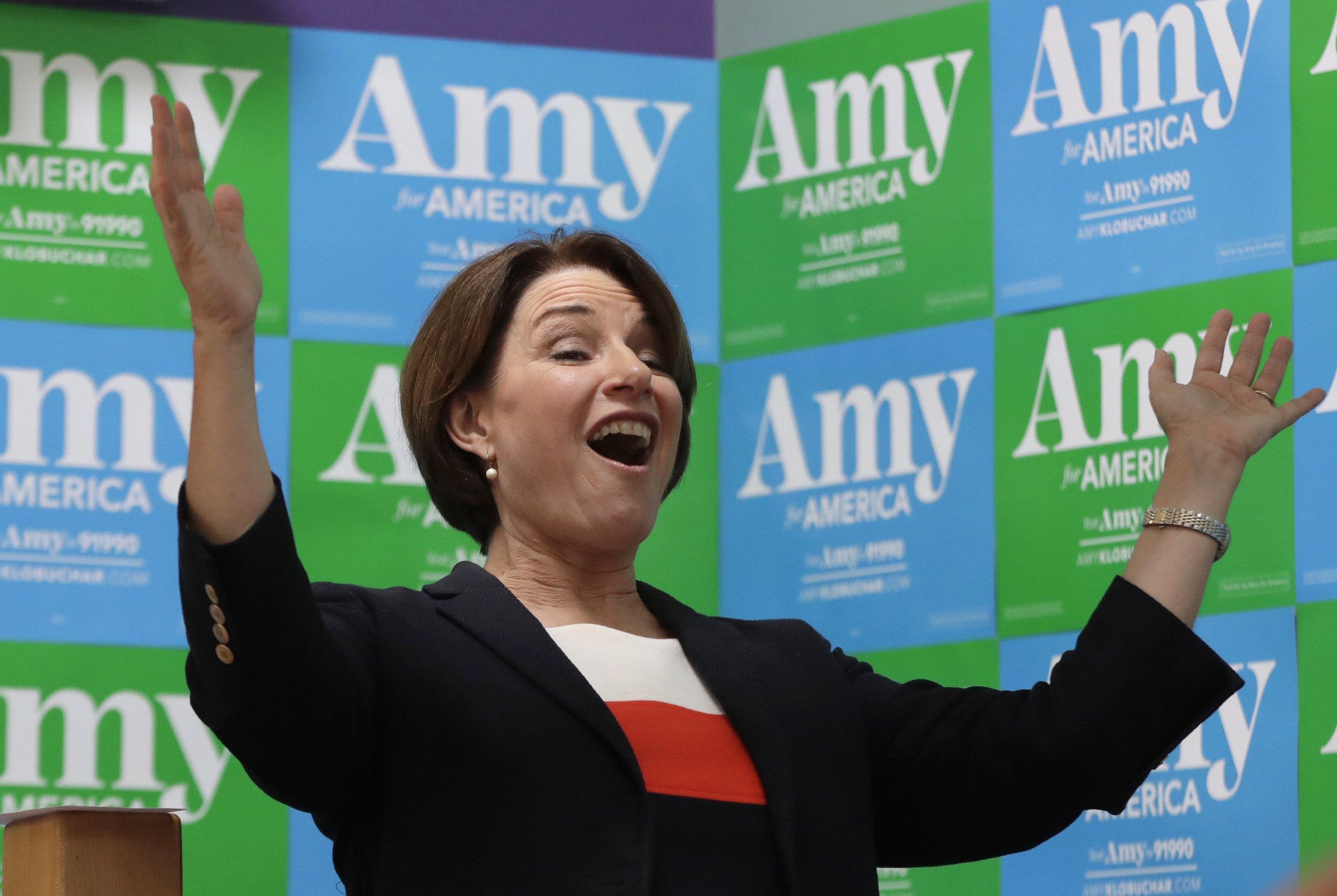 The Latest: NBC announces 1st 2020 Democratic debate lineups