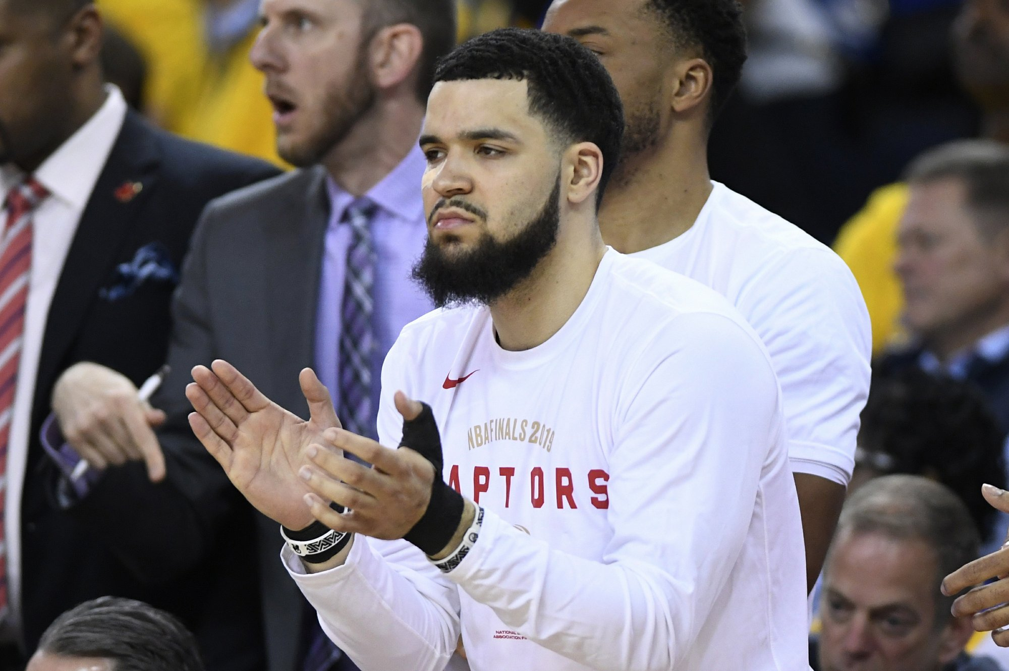 VanVleet, Raptors aren't smiling now, but they might be soon