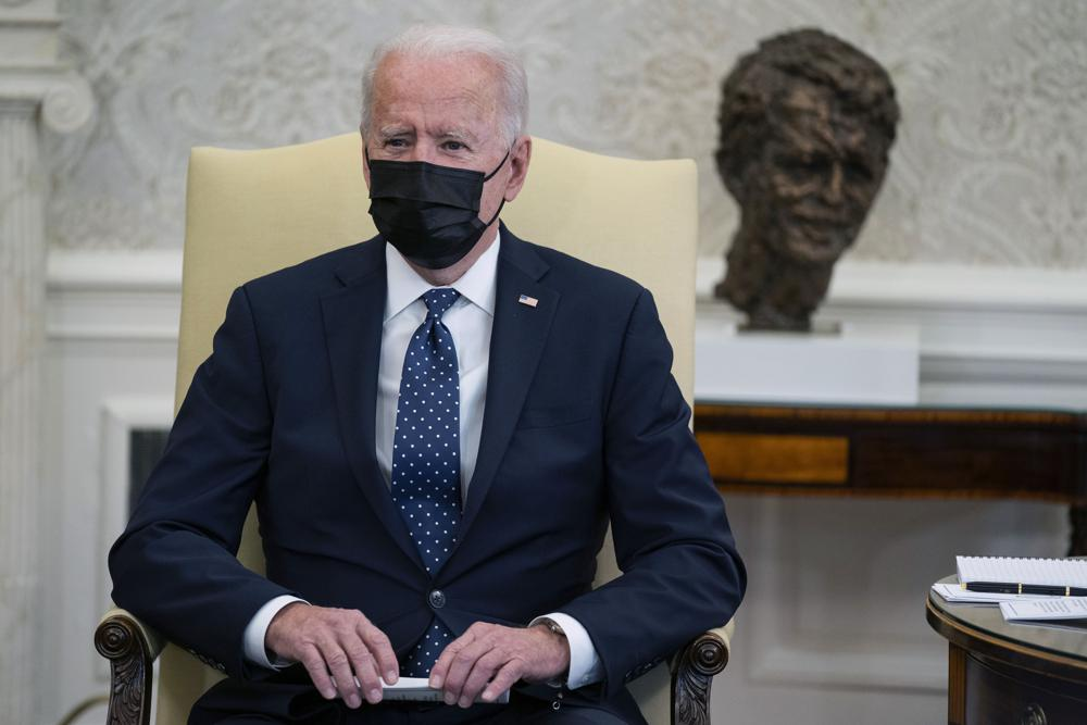 "President Biden says he's ""praying the verdict is the right verdict"" in the Derek Chauvin trial"