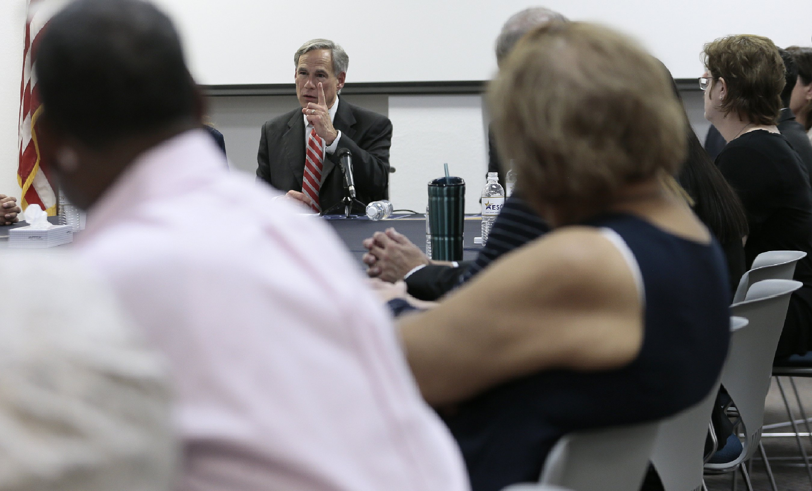 Texas governor says 'mistakes' made in immigrant rhetoric