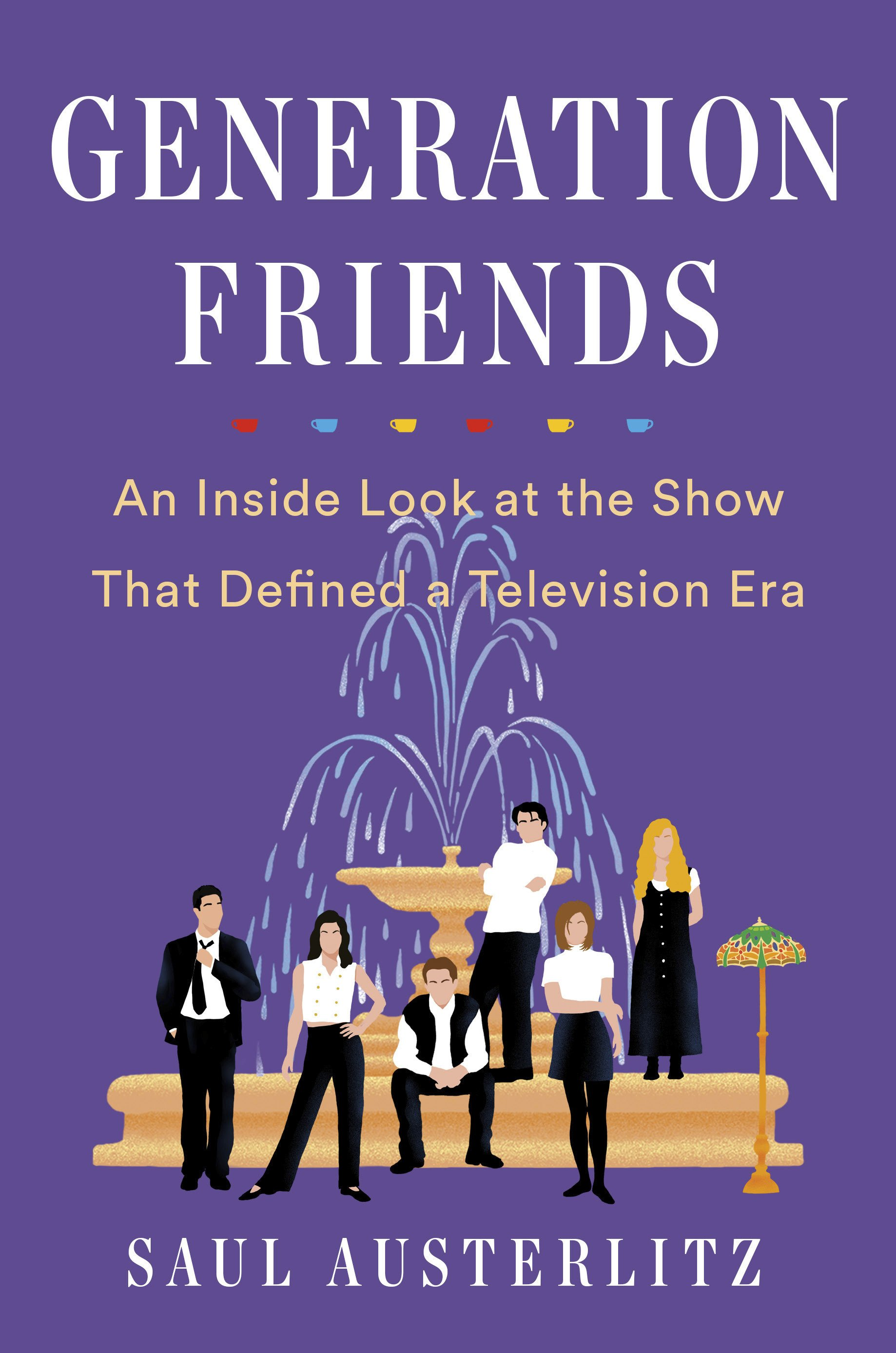"Author takes deep dive into creation of TV show ""Friends"""