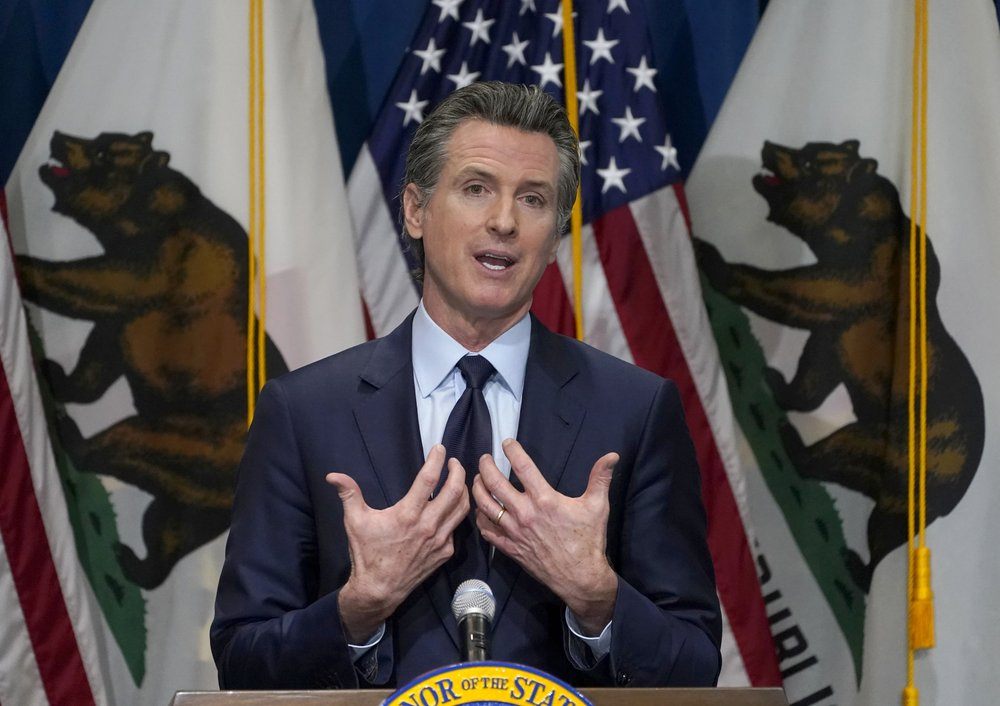 Law enforcement investigate threats against Gov.  Newsom, his businesses