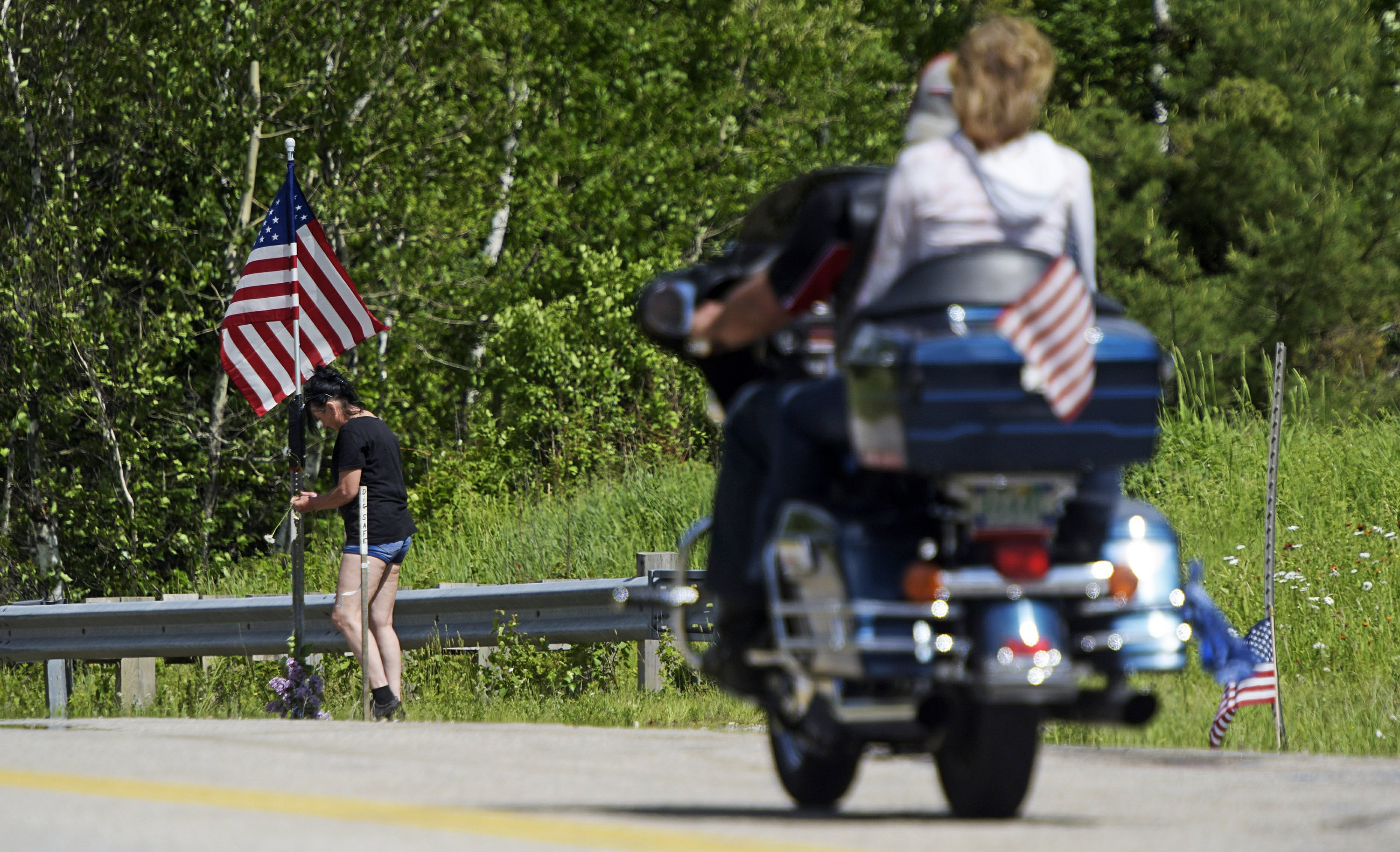 The Latest: Police identify victims of biking accident