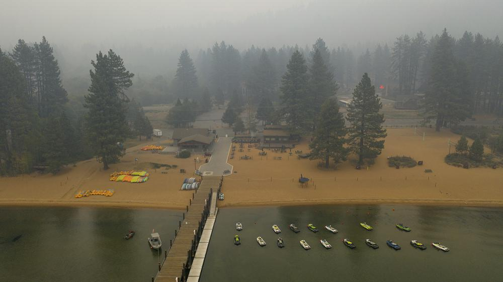 California Experiencing Extreme Heat as Wildfires Threaten Lake Tahoe
