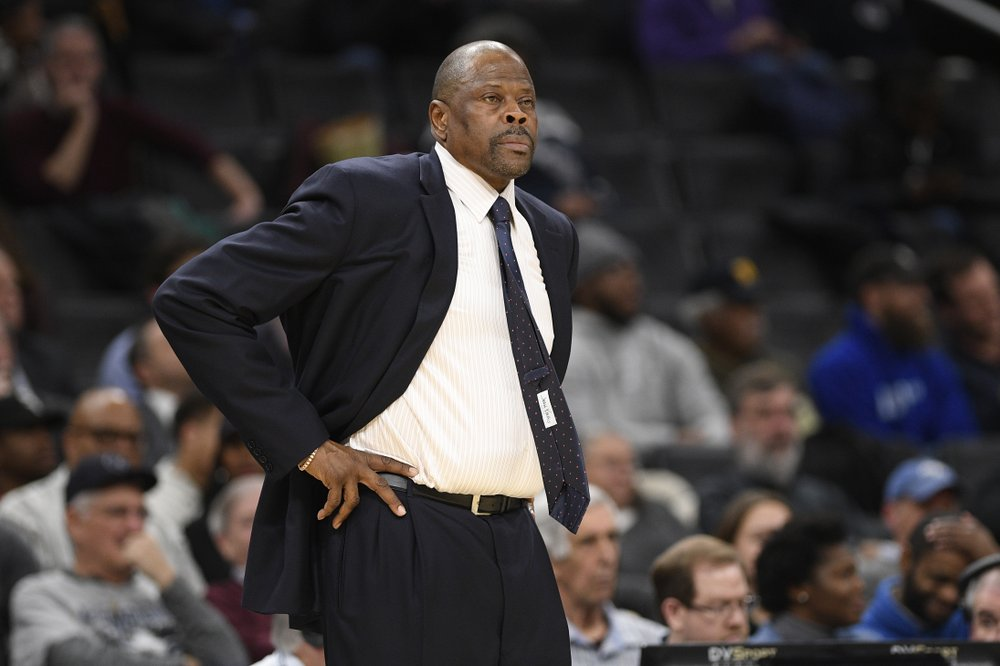 Patrick Ewing recovering at home after coronavirus treatment