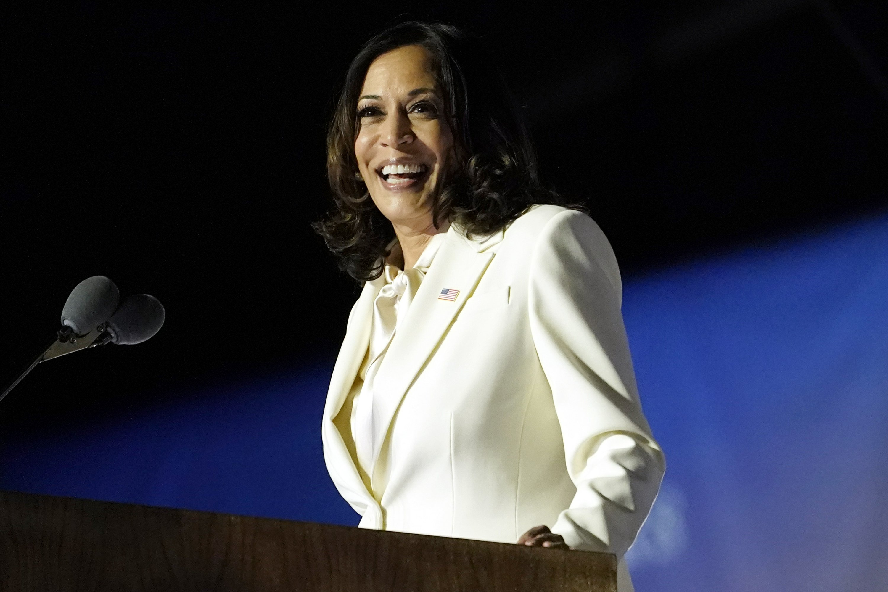 Harris Pays Tribute To Black Women In 1st Speech As Vp Elect