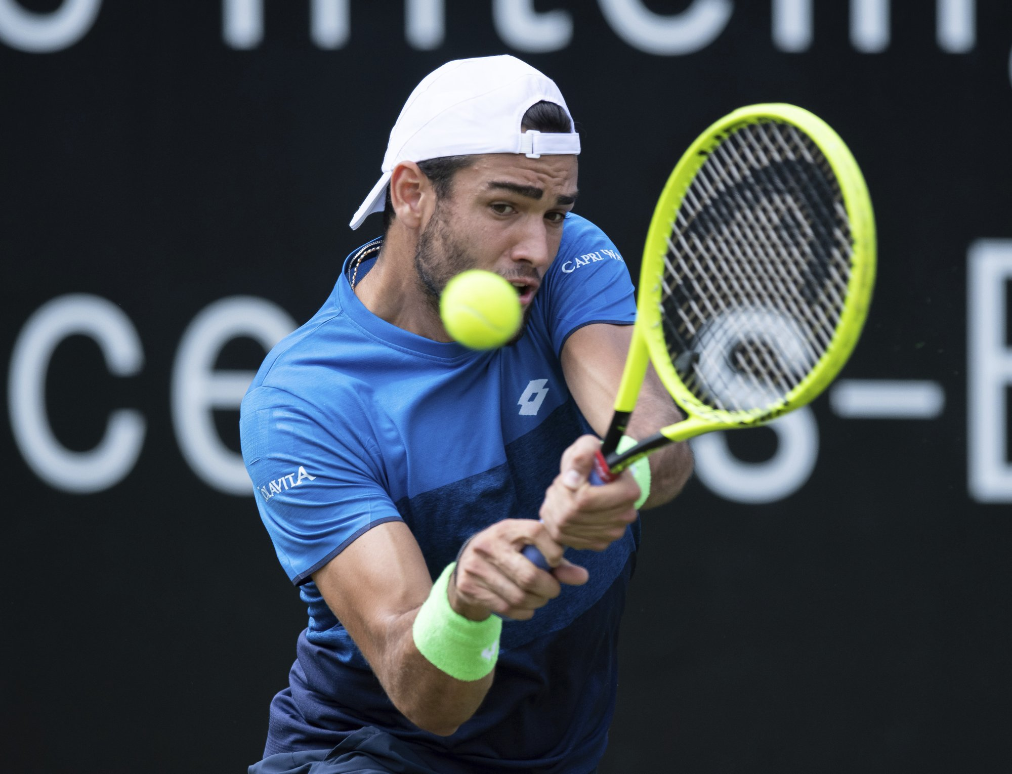 Berrettini breaks through on grass to win Stuttgart Open
