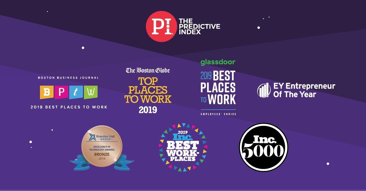 Nine Time 2019 Award Winner The Predictive Index Pi Celebrates 30 Yoy Revenue Growth Following Launch Of Talent Optimization Discipline