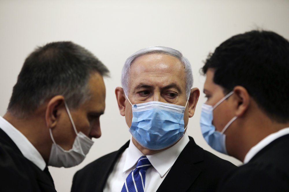 "Prime Minister Benjamin Netanyahu strikes out against the nation's justice system accusing police and prosecutors of conspiring to ""depose"" him"