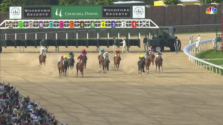 Secretariat wins virtual Kentucky Derby