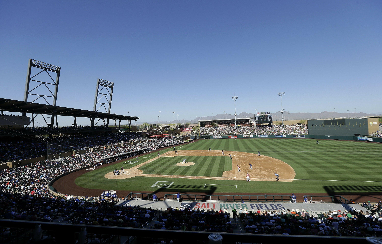 MLB spring training still a hot ticket in Arizona - Associated Press