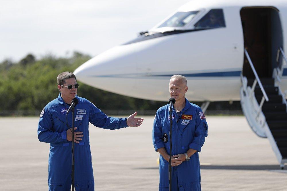 NASA test pilots Doug Hurley and Bob Behnken will end a nine-year launch drought for NASA