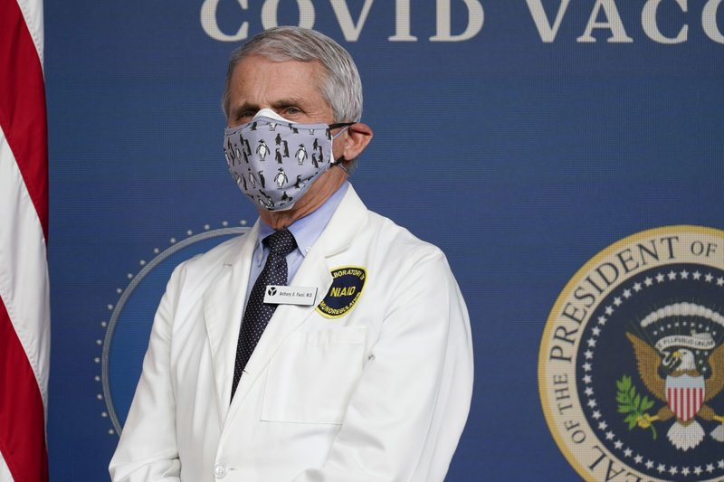 Dr. Anthony Fauci wishes former President Donald Trump would use his popularity to persuade his followers to get the COVID-19 vaccine