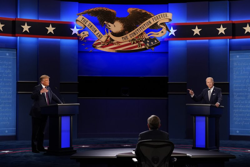 Chaotic First Debate Taunts Overpower Trump Biden Visions