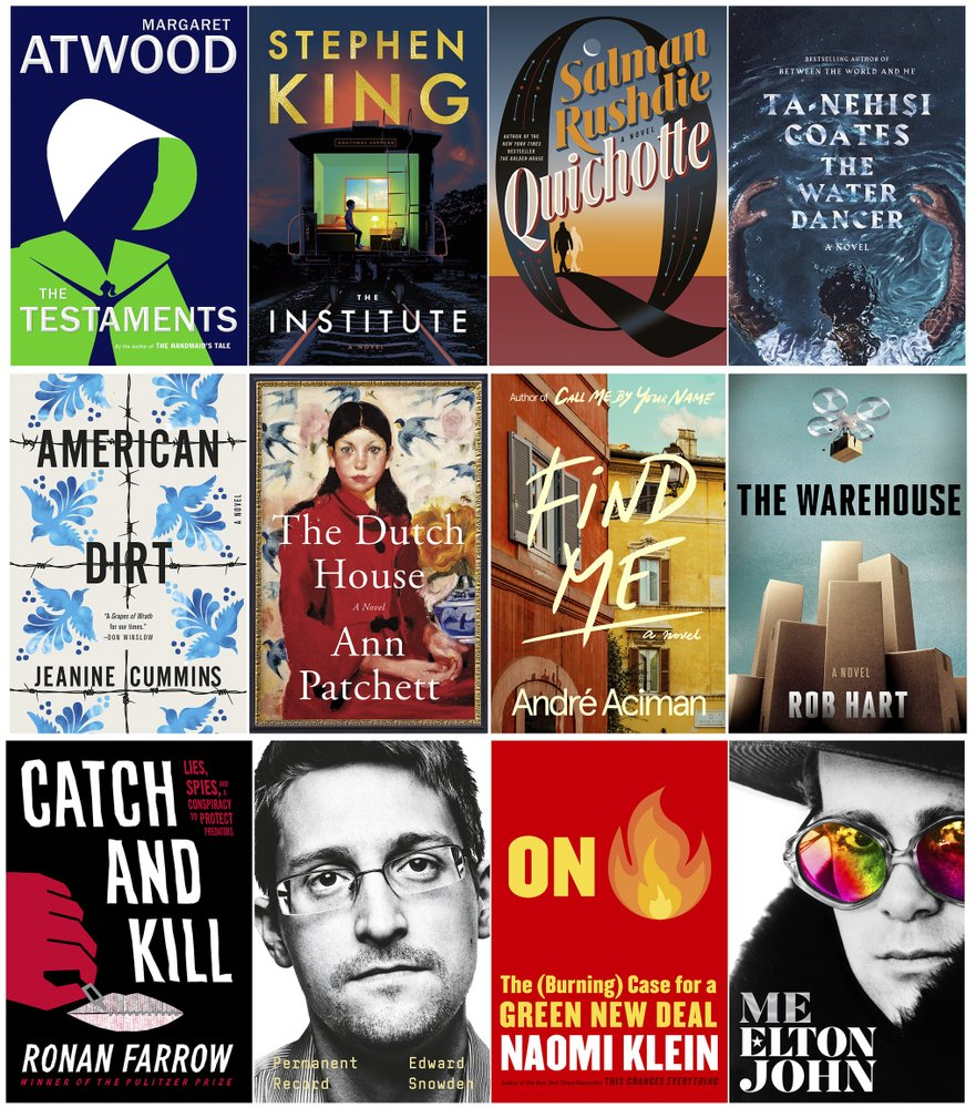 Atwood, Rushdie novels among fall highlights