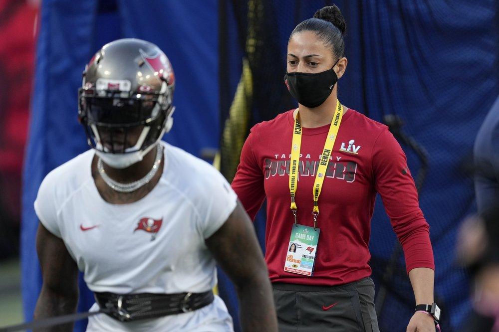 Lori Locust and Maral Javadifar first female coaches to win Super Bowl