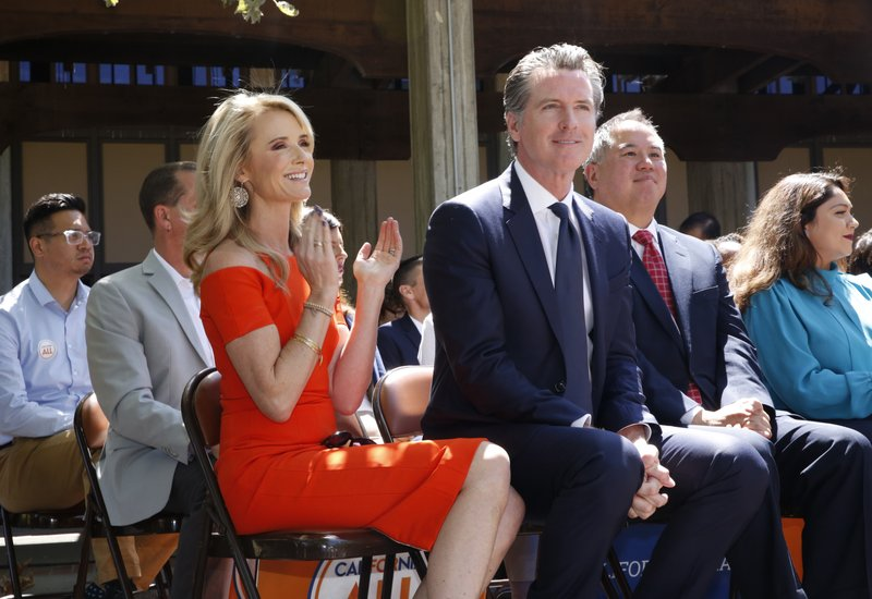 No Timidity For California Governor S Wife On Key Causes