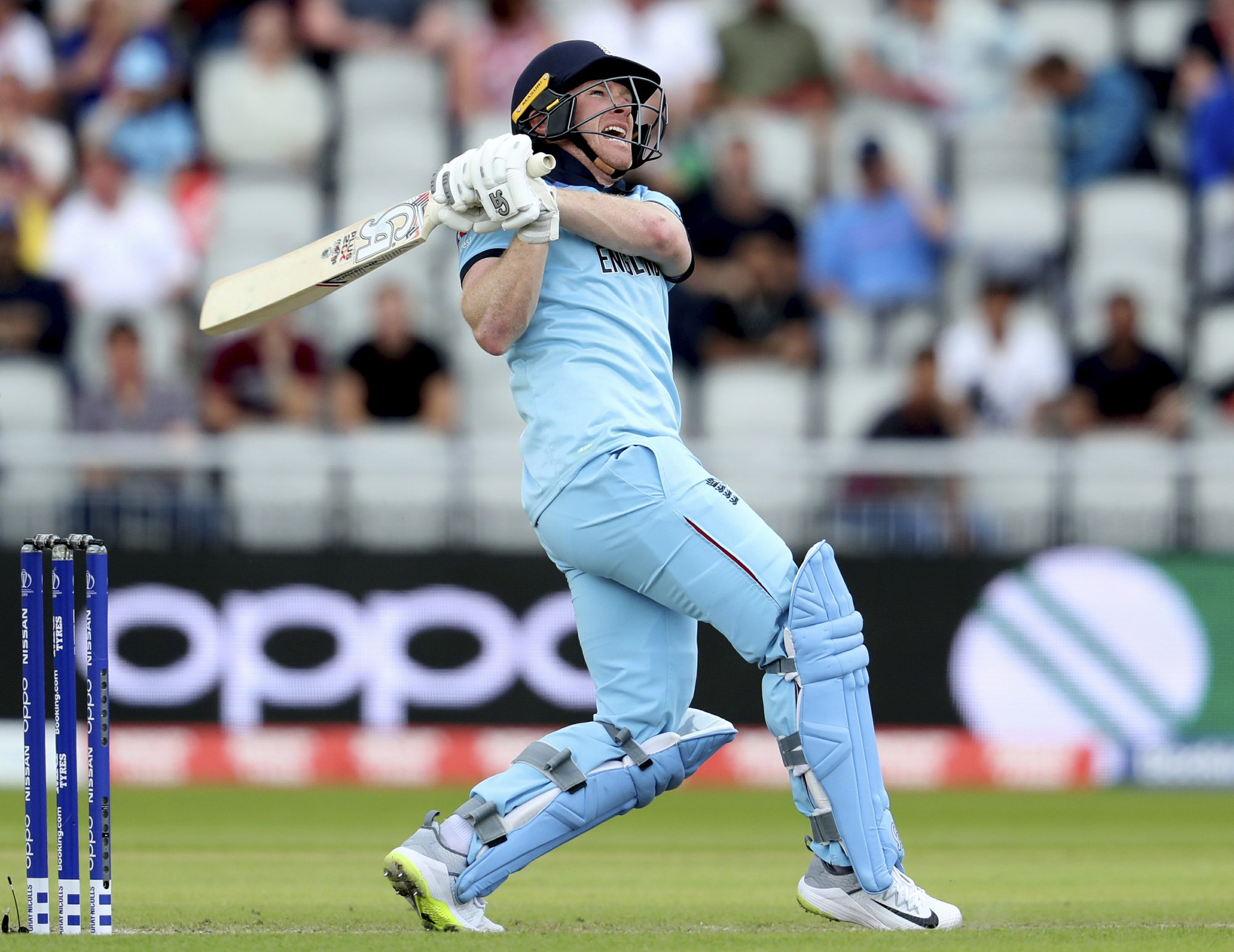 Morgan hits record 17 sixes; England reaches 397-6 v Afghans