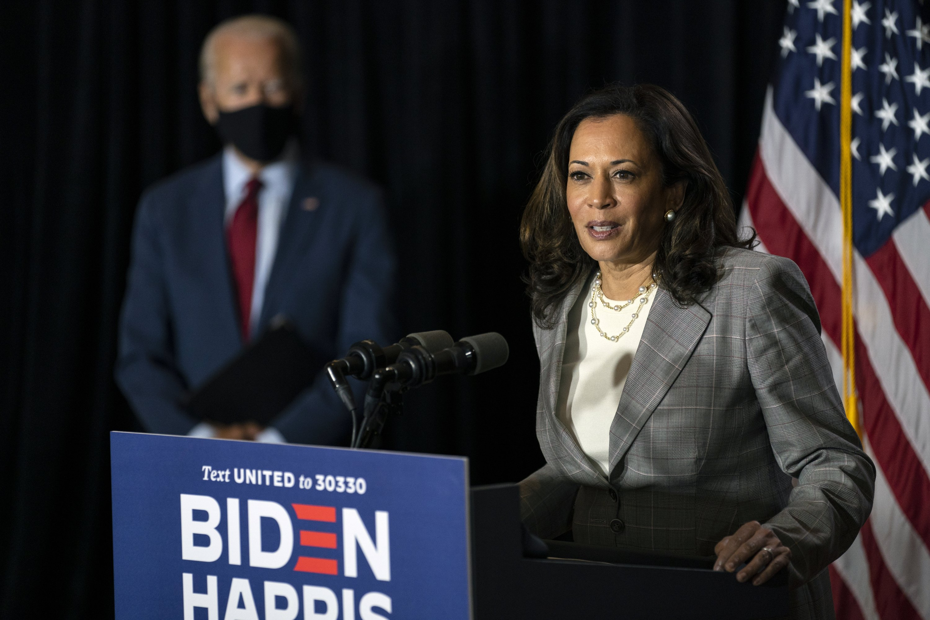 Not Real News A Look At False Claims Around Kamala Harris