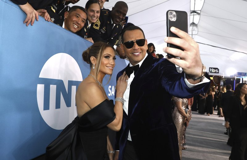 Jennifer Lopez and Alex Rodriguez say they're working things our