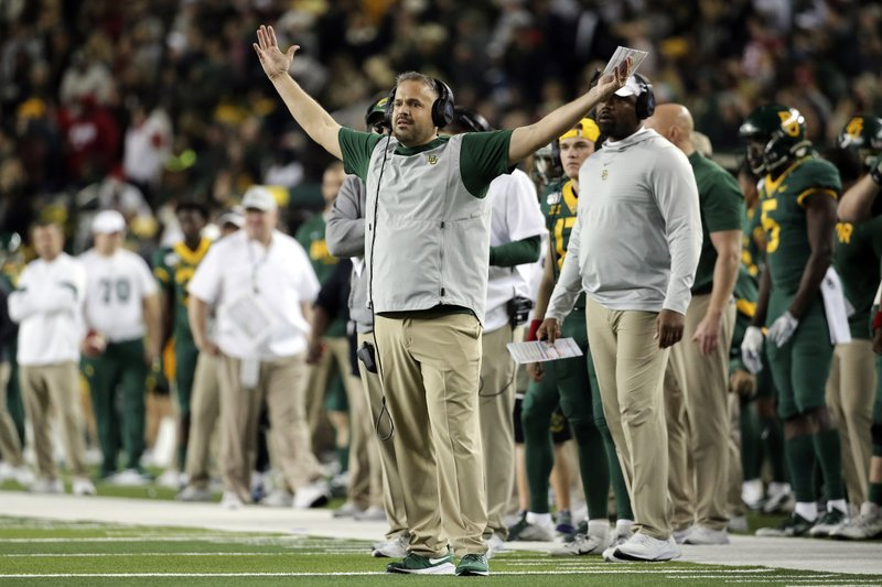 No 11 Baylor Heads To Kansas To Prep For Big 12 Title Game