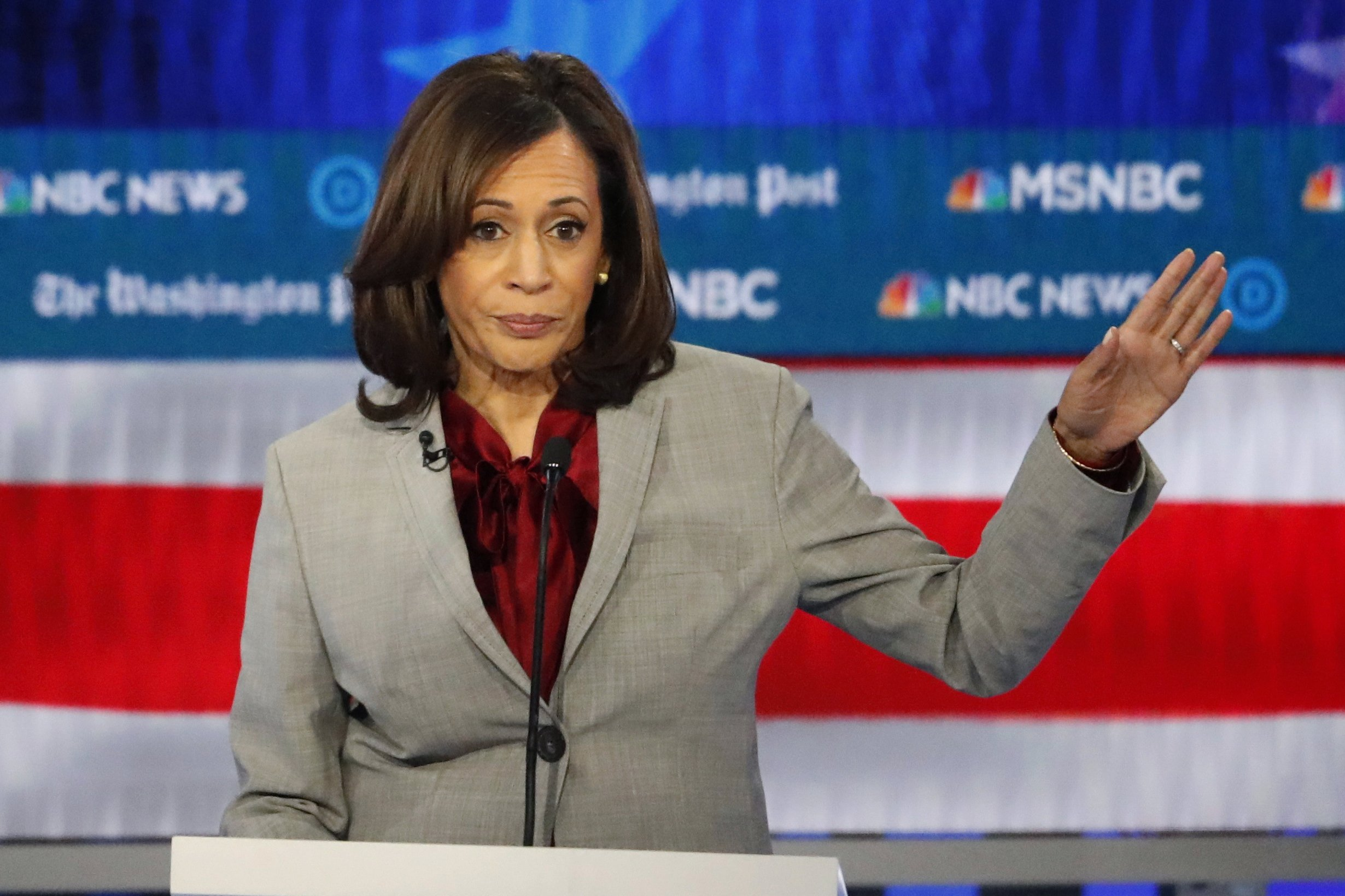 Kamala Harris Ends White House Bid Citing Lack Of Funding